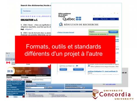 Exemples canadiens de dictionnaires juridiques diffusés dans internet